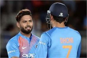 pant has more natural talent than dhoni  former indian cricketer