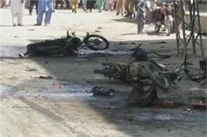 at least 5 killed 20 injured in powerful blast in chaman