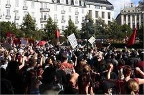 after sweden anti islam riots erupt in norway
