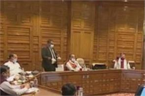 cabinet meeting 2322 posts to be filled in water power department