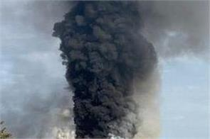 newhaven  explosion  sparks huge blaze as plumes of smoke seen for miles