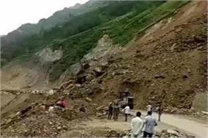 jammu srinagar national highway closed on second day