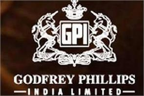 godfrey phillips s first quarter net profit