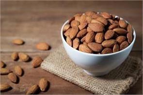 give good health gift with almonds on this rakshabandhan