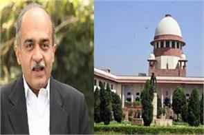 sc to give verdict on monday in contempt case against prashant bhushan