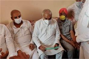 hooda gave ultimatum to government take back cases against farmers