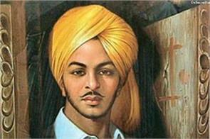shaheed bhagat singh birth anniversary today pm modi shah salute