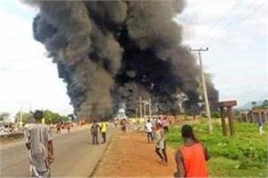 nigeria  30 killed in fuel tanker explosion