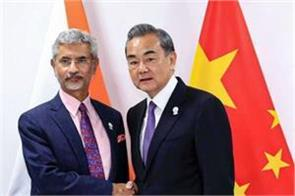 s jaishankar to china peace is necessary on lac for good relationship