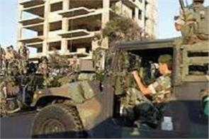 13 militants killed in encounter with security forces in lebanon