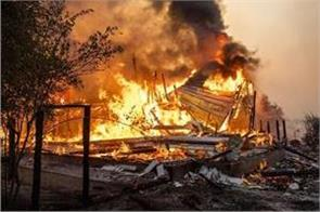 california wildfires rank among state s largest on record