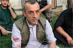 afghan vice president amrullah saleh unharmed in attack in kabul