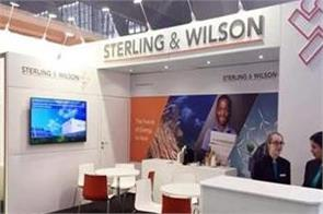 sterling and wilson solar s profit decreased by 62 percent