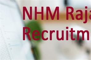 nhm rajasthan cho recruitment 2020 for 6310 vacancies