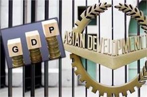 adb estimates indian economy will decline by 9 in 2020 21