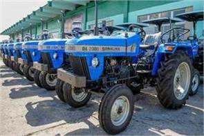 sonalika tractors reported 59 percent increase tractor sales august