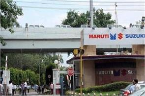 maruti sales up 17 percent at 1 24 lakh units august