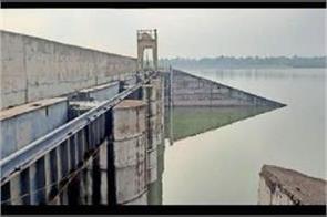 panchkula water level reached in danger flood gates