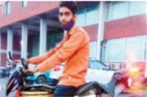 was fond of bike but did not have money in his pocket