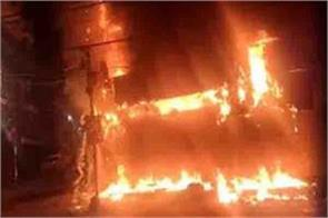 28 shops and a house burnt to ashes in ramban