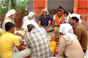kanpur havan has been done at chaubepur police station