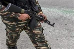 bsf asi killed while patrolling at srinagar raj bhavan