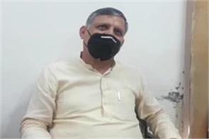 congress is doing politics on the issue of farmers kanwar pal gurjar