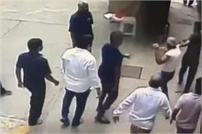 former naval officer assault case six shiv sena workers arrested again