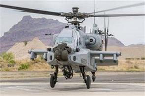 fighter helicopter apache landed in kishtwar amid tension with china over lac