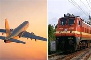 travel by airplane if you do not have a confirmed seat in the train