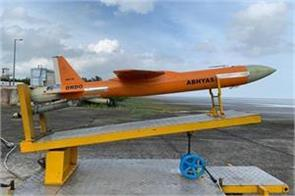 drdo successfully tests ariel target abhyas drone