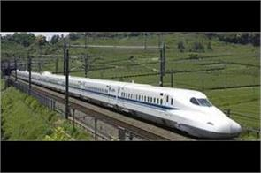 bullet train project will provide employment to more than 90 000 people