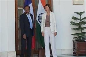 france s defense minister meets nsa doval