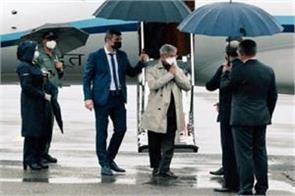 s jaishankar who arrived in russia will attend sco meeting
