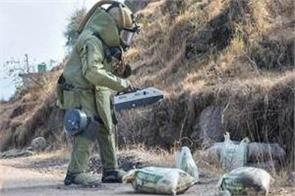 ied destroyed in poonch