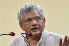 yechury will start the mission to unite the opposition once again