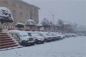 minimum temperature 6 degree in srinagar