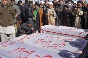 pakistan s shia hazaras end protest bury slain miners