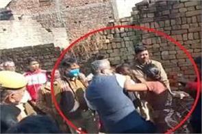 gorakhpur deputy dm obscenities woman during public meeting