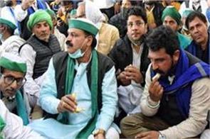 bhim army chief meets farmer leader rakesh tikait at ghazipur border