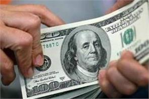 foreign exchange reserves  29 million to  580 84 billion