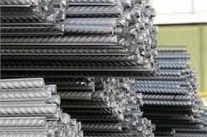 india s crude steel production decreased by 10 6 to 9 96 million