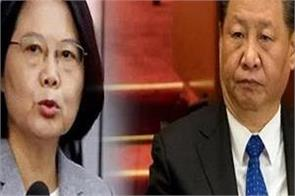 taiwan president says china is tension for global community