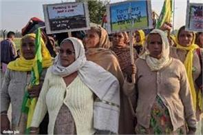farmer women outraged against modi government