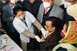 corona vaccine introduced in amritsar they got first vaccine