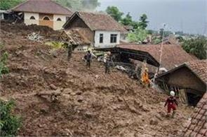 26 missing at least 13 dead in indonesia landslides