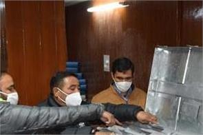 evm machines sealed in strong room after flc amit guleria
