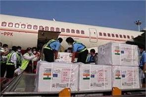 india sent corona vaccine to myanmar