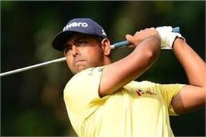 anirban lahiri achieved a cut at the sony open with a score of 65
