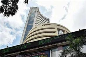 market ahead of budget share market rises 400 points to reach 46 500 level